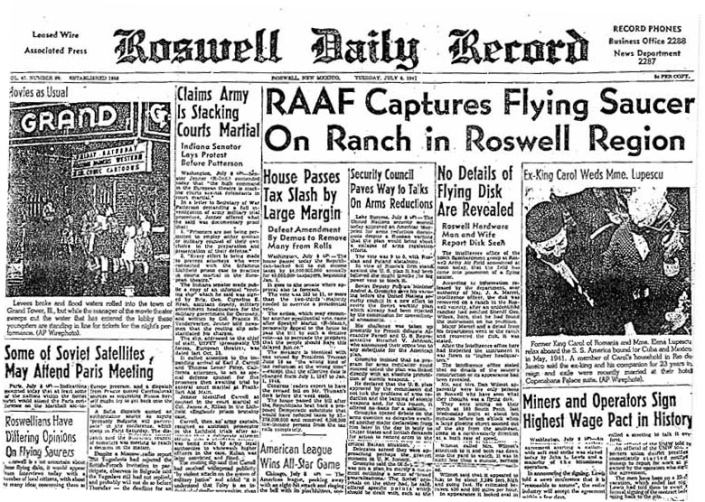 Roswell Daily Record Photo