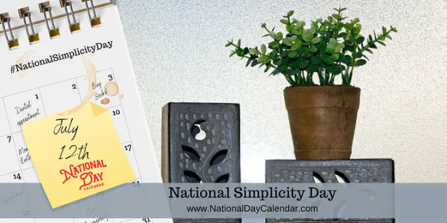 Simplicity Day Image