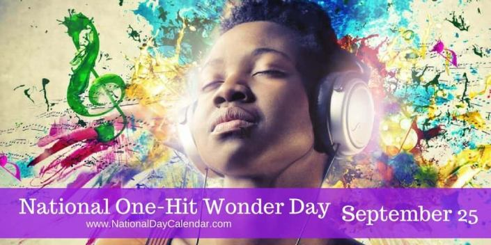 National One Hit Wonder Day Image