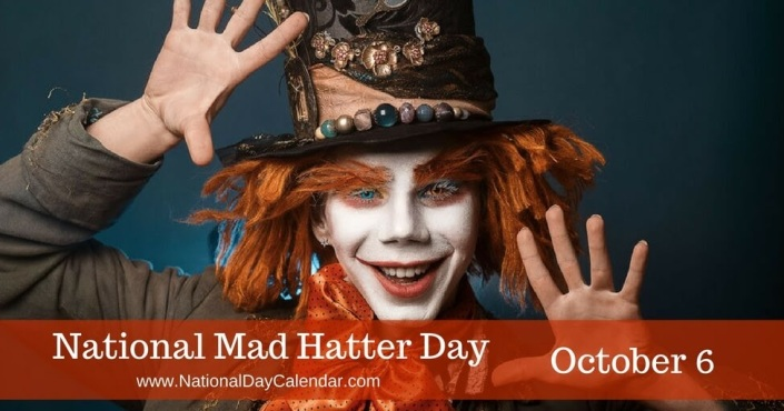 National Mad Hatter Day Image