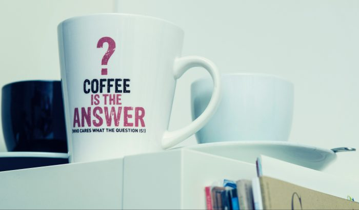 Coffee Is The Answer Image