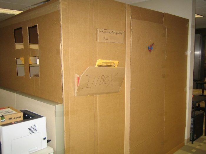 Cardboard Office Image Three