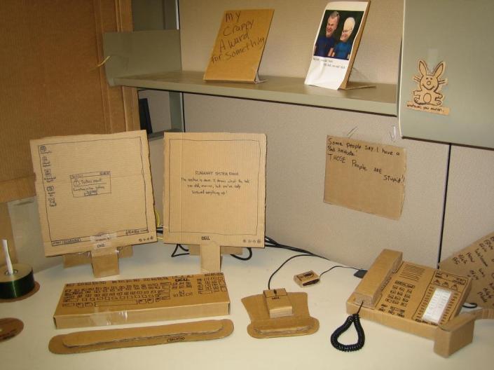 Cardboard Office Image Four