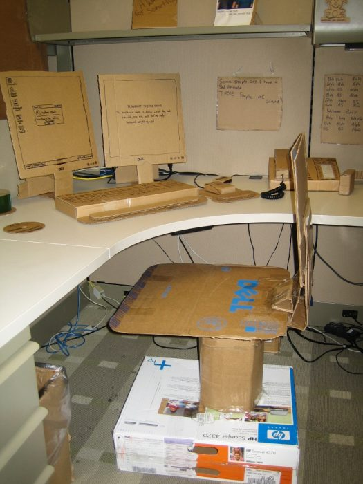 Cardboard Office Image Seven