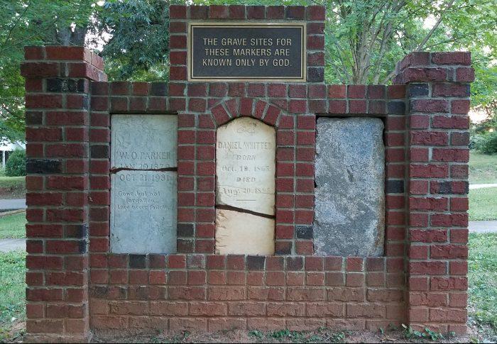 Headstone Wall Image