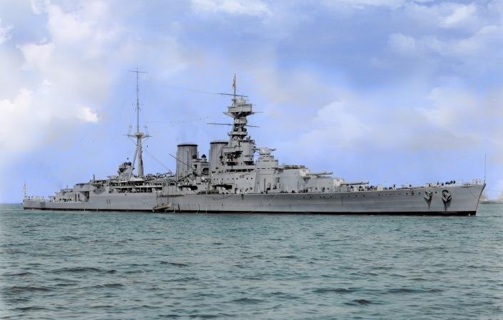 HMS Hood Image One