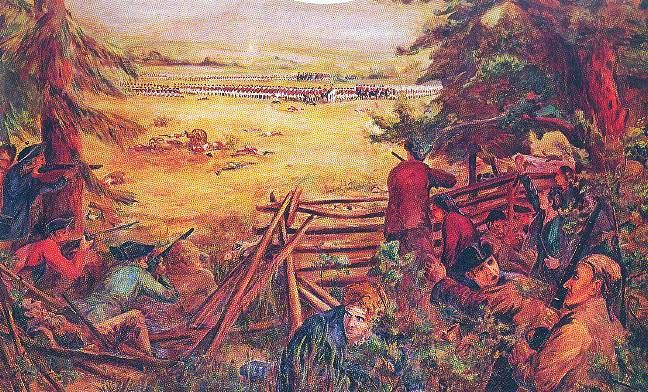 The Battle of Alamance Image One
