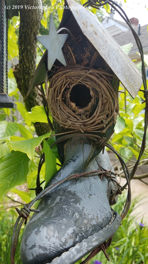Boot Birdhouse Image Seven