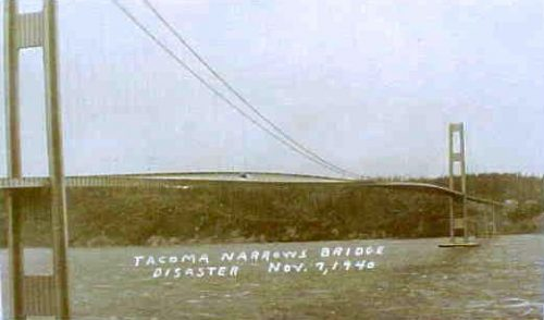 Tacoma Narrows Bridge Image Two