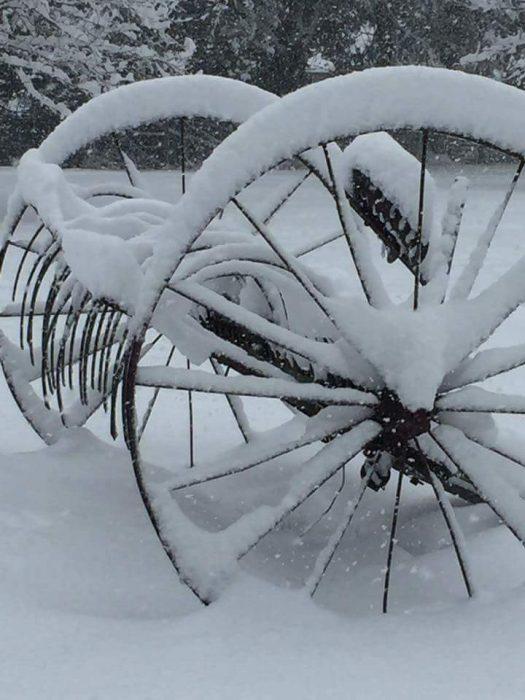 Harvester Snow Image Three