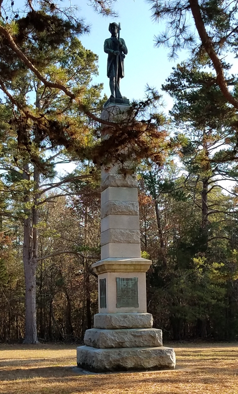 James Hunter Monument Image One