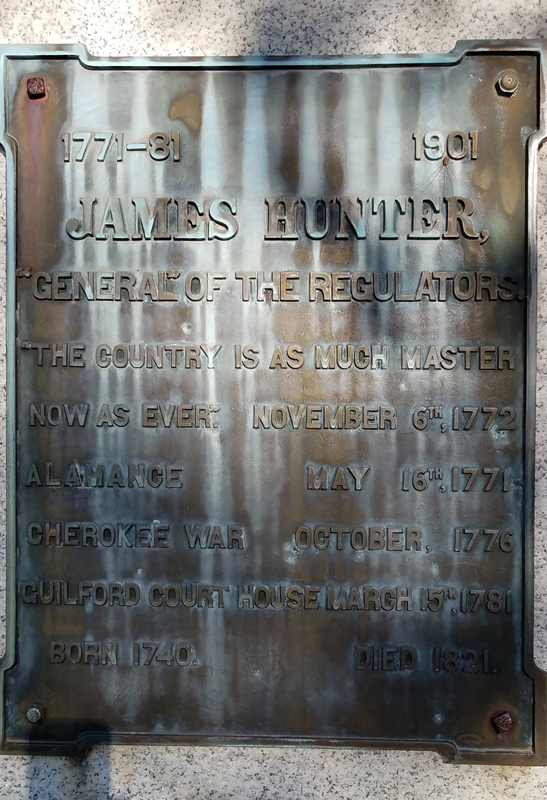 James Hunter Plaque Image Four