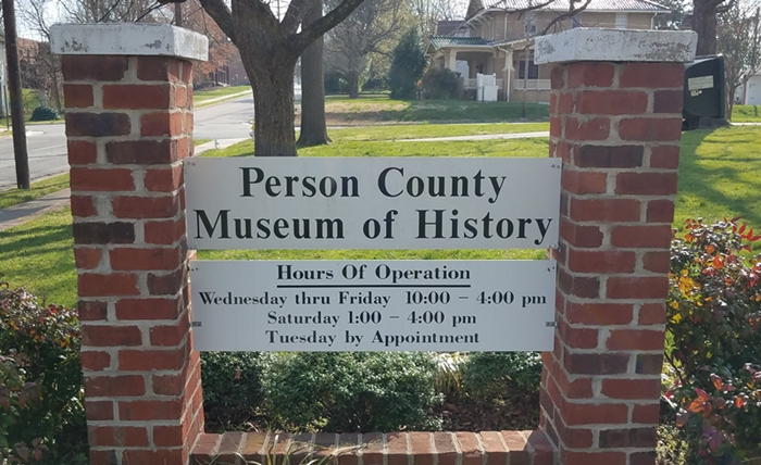 Person Museum Sign Image Two