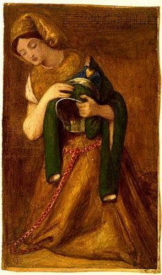 Lady Greensleeves Dante Rossetti Image Two