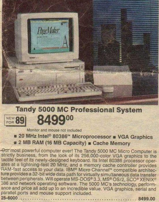 Tandy 5000 Image