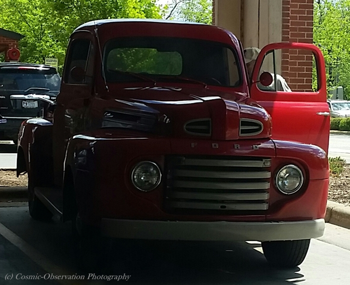 Red Ford Pickup Image