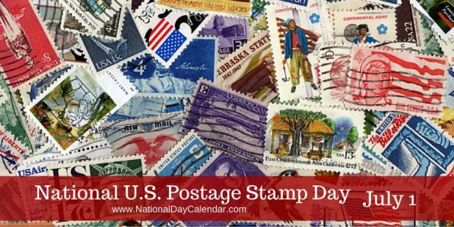 Postage Stamp Day Image Two