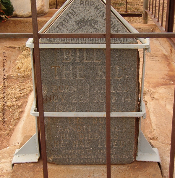 Billy's Tombstone Image Five