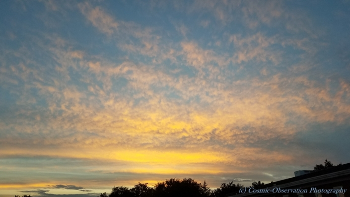 Birthday Sunset Image