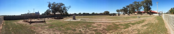 Fort Sumner Cemetery Panorama Image Six