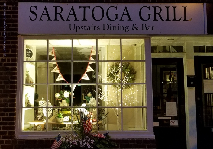 Saratoga Grill Front Image Two