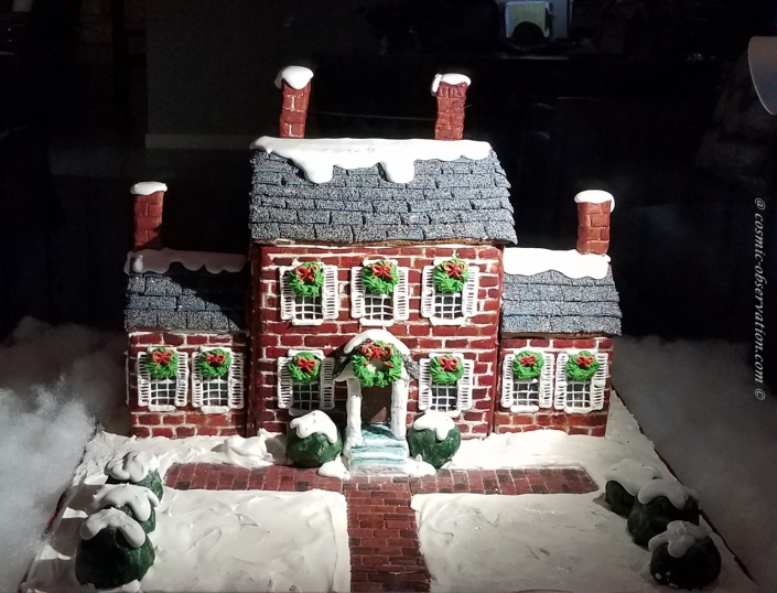 Ayr Mount Gingerbread House Image One