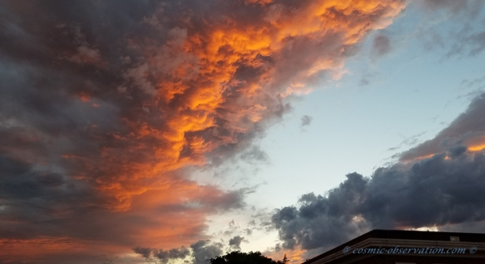Sunset Fire Image