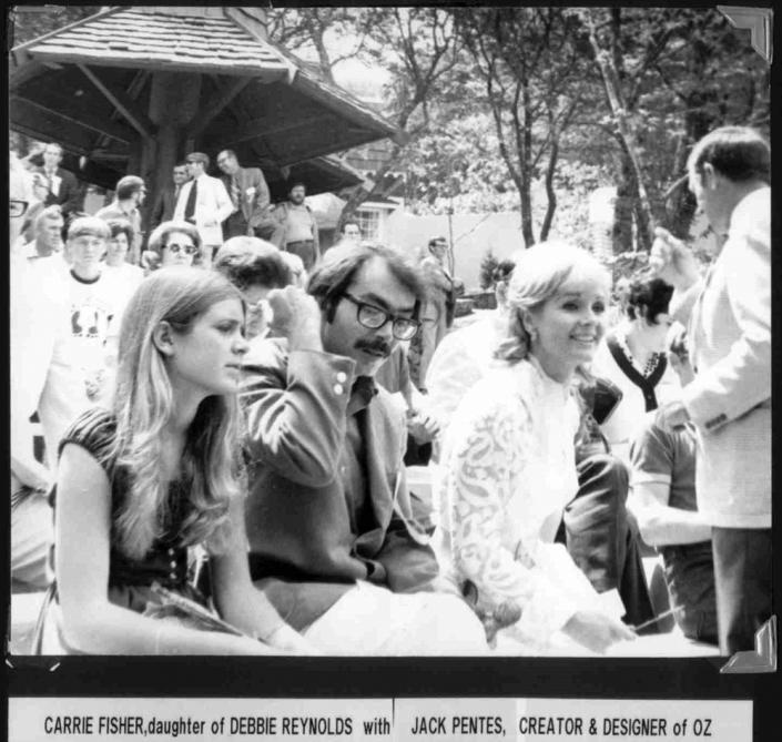 Carrie Fisher Jack Pentes Debbie Reynolds Image Two
