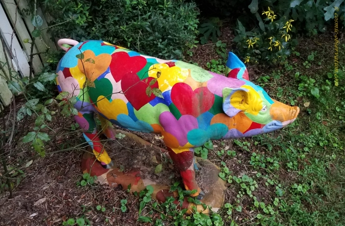 Painted Pig Image One